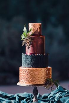 Gâteau de mariage tendance en 2017