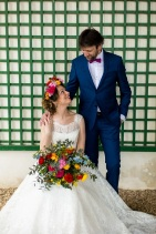 Shooting inspiration mariage vintage multicolore